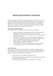 resume examples for receptionist best receptionist resume example sample receptionist cover letter unit secretary resume sample medical receptionist resume sample objective medical office secretary