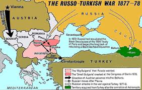 Russo-Turkish War - Maps