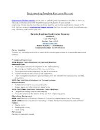 Sample Resume  Cv Format Graduate The Fuller Free  Mr  Resume