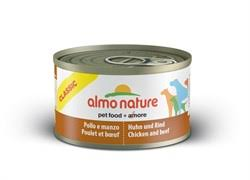 <b>Консервы ALMO NATURE Classic</b> Chicken and Beef для собак с ...