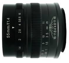 <b>Объектив 7Artisans</b> 55mm F1.4 Fujifilm <b>X</b> черный купить в ...