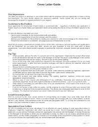 cover letter guides template cover letter guides