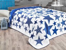 "<b>Плед KARNA хлопок</b> ""STARS"" 180x240 см (голубой) | купить в ..."