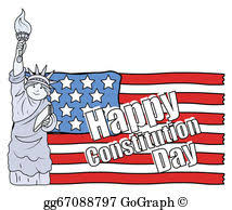 Constitution Day Clip Art - Royalty Free - GoGraph