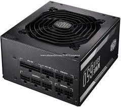 <b>Power Supply Cooler Master</b> MWE GOLD 650 80 PLUS Gold ...
