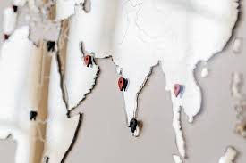 Пазл <b>Карта Мира World</b> Map Wall Decoration - Зеркальная карта ...