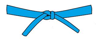 Faixa Azul Clara