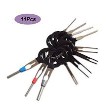 Kalolary <b>11Pcs</b>/<b>Set Terminal</b> Removal Tools <b>Car Electrical</b> Cable ...