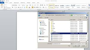 steps to enable bi publisher add in menu in microsoft office  now templatebuilder dot is loaded to ms office 2010 click ok