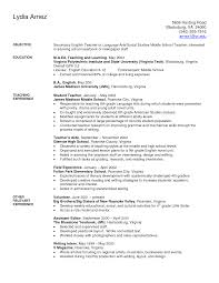 science teacher resume sample india elementary teacher resume    education high school teacher resume examples dance