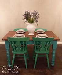 table chairs painted this is how you build your own dining room set by mixing and matching