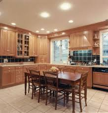 kitchenamazing kitchen recessed lighting dining table wooden chairs wooden cabinet telephone downlight lamp amazing 3 kitchen lighting