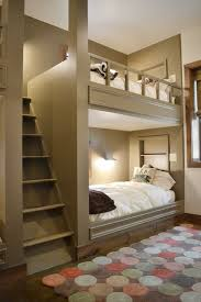 bunk beds with stair with white bedding bunk bed steps casa kids