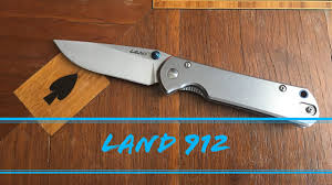 First Look at the Sanrenmu / <b>Land 912</b> (9103) Knife. - YouTube