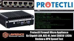 Protectli <b>Firewall Micro Appliance</b>: 6x Gigabit LAN, AES-NI, Intel ...