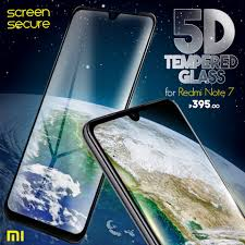 Screen Secure - Look! 5D <b>tempered glass for Xiaomi</b> Redmi ...