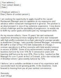 sample resume cover letter for restaurant manager   resume and    sample resume cover letter for restaurant manager assistant restaurant manager cover letter for resume sample restaurant