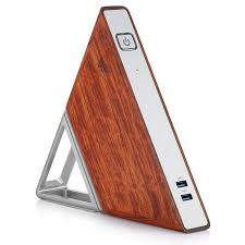 <b>Acute Angle AA</b> is a Triangle Shaped Mini PC with a Wooden Finish