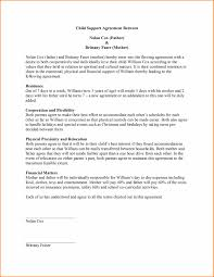 sample child support agreement info 7 child support agreement template resume reference