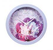 <b>Часы Вега</b> П1-13/7-223 Пион <b>настенные</b> круглые пластик 28,5см ...