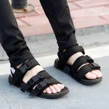 Unisex <b>sandals casual couple</b> shoes summer <b>sports</b> Korean version ...