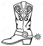 Images & Illustrations of cowboy boot