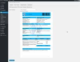 woocommerce pdf invoices plugin custom email invoice template pdf invoices and packing slip