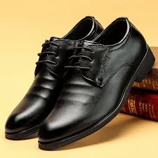 Kasut kulit lelaki <b>Business dress</b> leather shoes <b>men's</b> height ...