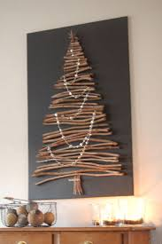 cheap christmas decor: another wooden christmas tree  another wooden christmas tree
