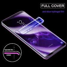 <b>Anti</b>-<b>Blue Hydrogel Film</b> Samsung Galaxy Note 8 <b>9</b> 10 S8 S9 S10 + ...