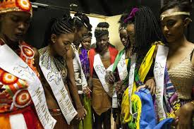 Image result for Miss Africa beauty pageant