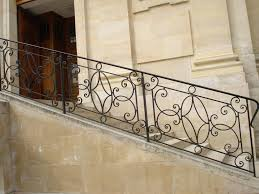 Custom Stair Railing Beautifying House With Iron Stair Railing Home Design By John