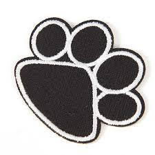 4.5cmx5.5cm <b>1PC</b> for Children <b>Clothing</b> Cute Black Dog <b>Animals</b> ...
