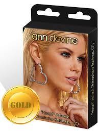 Серьги-сердечки <b>Ann Devine</b> - Heart Attack с кристаллами ...