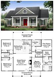 ideas about Simple House Plans on Pinterest   House plans    Colonial Country Traditional House Plan