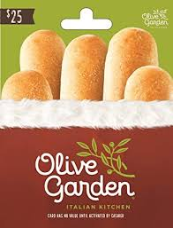 Olive Garden Holiday $25 Gift Card: Gift Cards - Amazon.com