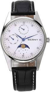 Berny Men Watches with Multifunction Dial Casual ... - Amazon.com