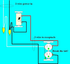 light outlet 2 way switch wiring diagram images switched outlet wiring diagram homerepairforum com forum