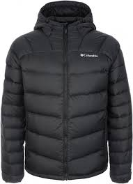 <b>Куртка</b> пуховая <b>мужская</b> Columbia Centennial Creek чёрный цвет ...