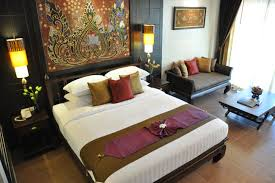 photo thai style bedroom