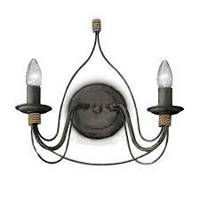 <b>Бра Ideal Lux Corte</b> AP2 Ruggine — купить в интернет-магазине ...