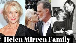 Helen Mirren Family Photos with Husband Taylor Hackford, Former ...