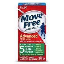 Schiff Move Free Joint Health Advanced <b>Plus</b> Coated Tablets, <b>MSM</b> ...
