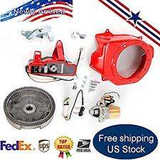 RANZHIX Electric Start Kit Flywheel with Starter Motor ... - Amazon.com