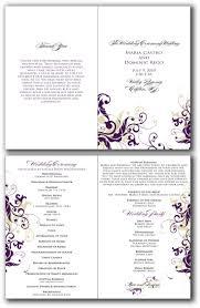 21 best ideas about church program wedding ceremony church program template signatures by sarah 2010