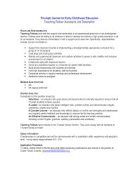 resume for preschool teacher entry level cipanewsletter excellent job recruitment letter template for preschool teacher