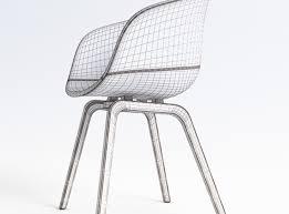 aac22 chair 3d model max 10 chair aac22 black