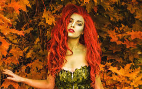 poison ivy makeup costume tutorial 2016 08 08