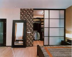 image of brown floral and white wardrobe closet doors blend with rectangle mirror architecture ideas mirrored closet doors