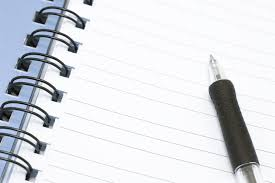 Image result for lined notebook